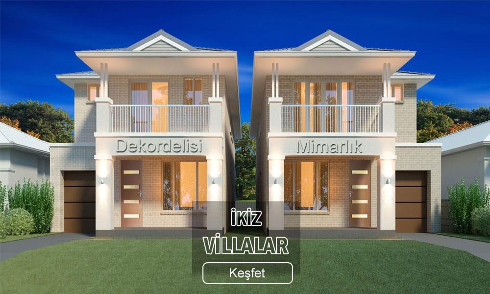 İkiz villalar