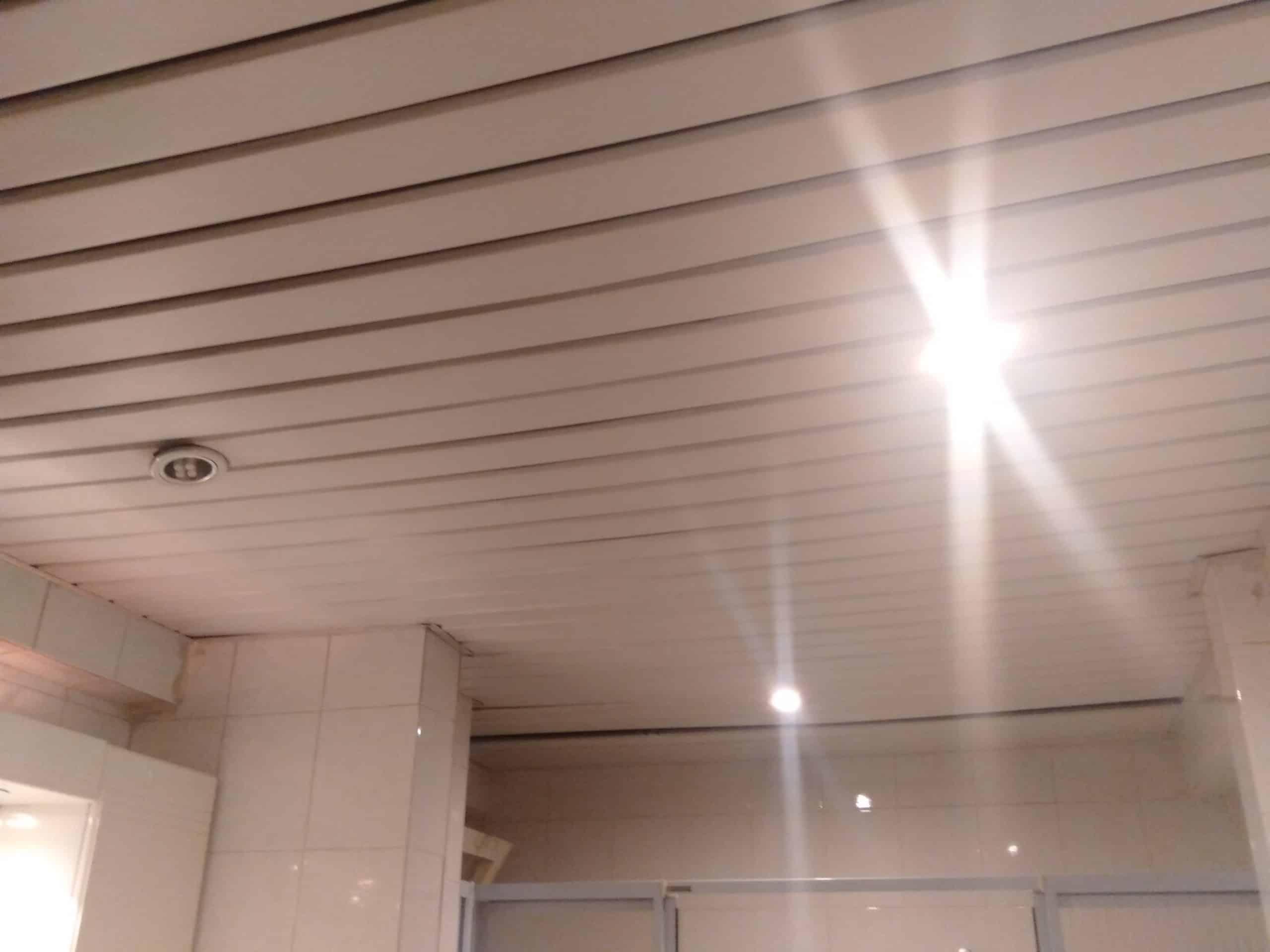 Banyoya asma tavan yapıyoruz