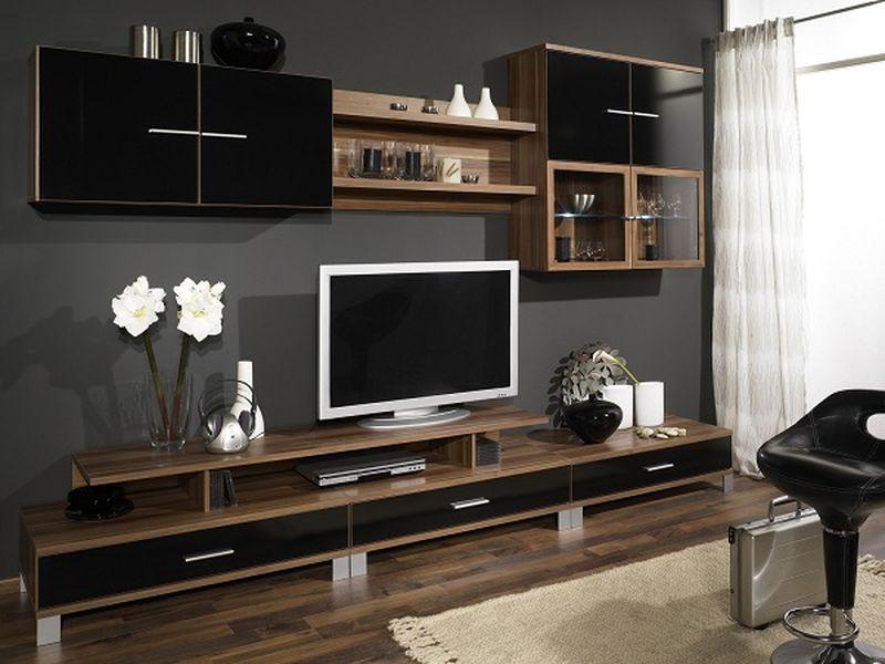 सफेद, भूरे रंग के साथ भूरे रंग का संयोजन इंटीरियर में काला