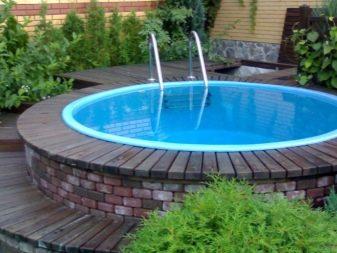 Как сделать на даче бассейн в земле. Строим бассейн на даче своими руками из подручных материалов. Система очистки воды