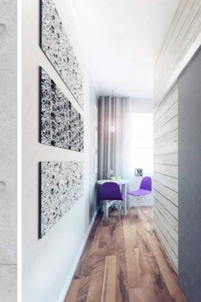 дизайн коридора в квартире 2018 5