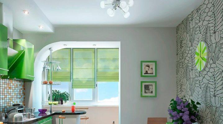 кухня на лоджии дизайн фото 1