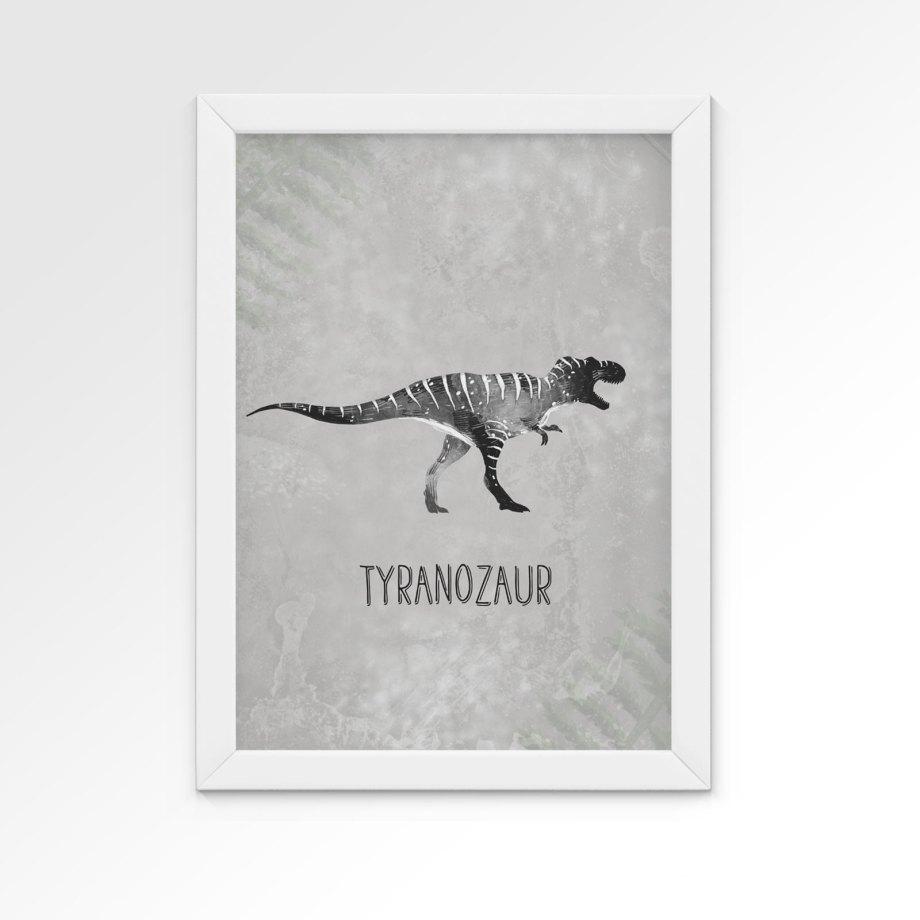 plakat-dinozaury-tyranozaur-dekorillo