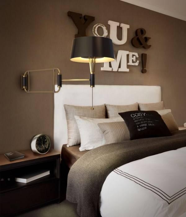 Yatak odası duvar dekor fikri