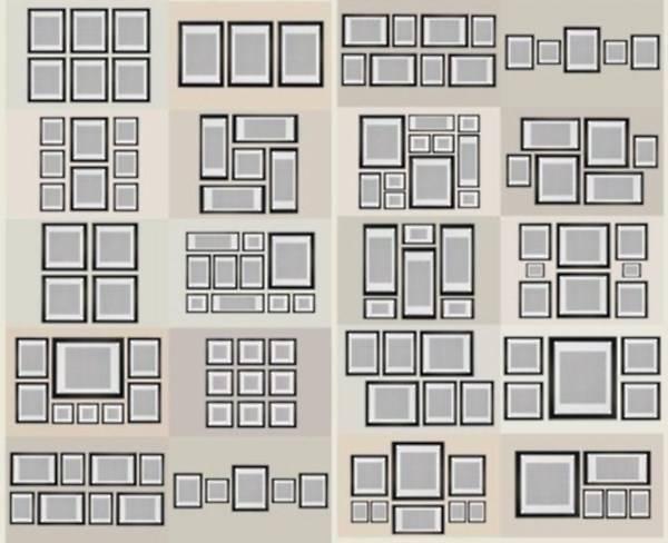 Fotoğraf çerçeveleri duvara nasıl yerleştirilir