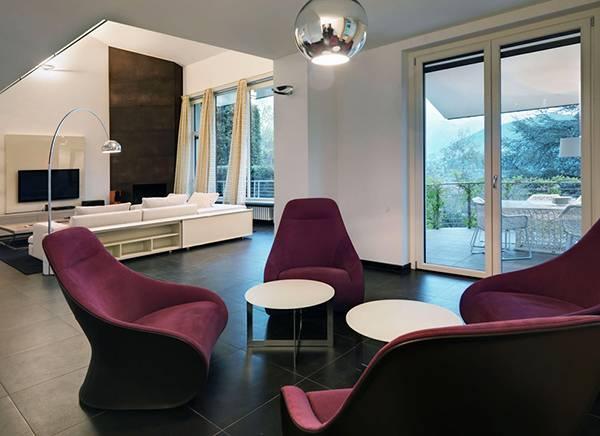 Unusual living room design