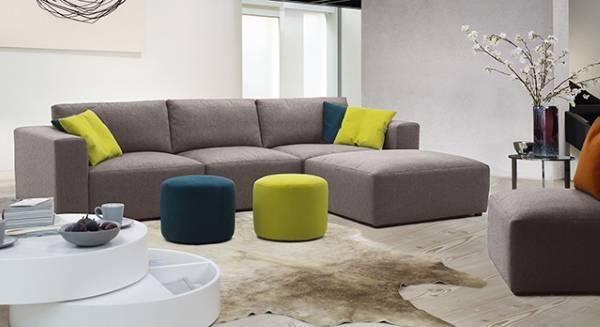 Döşemeli mobilya - modüler köşe kanepeler