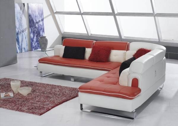 Modern tarzda modüler yumuşak köşe kanepe