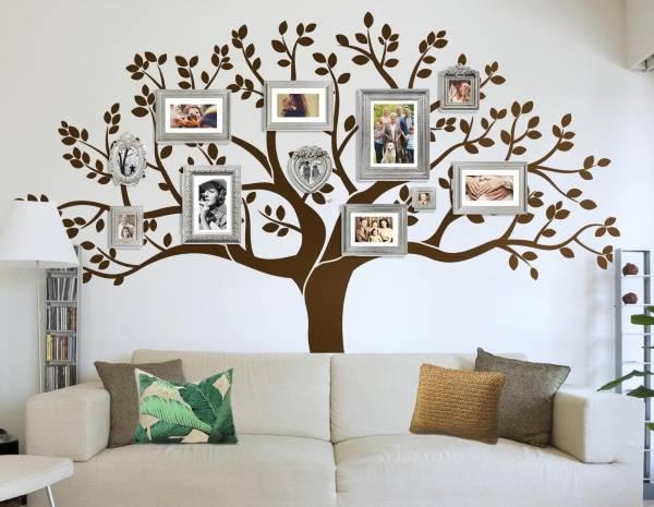 Aile Ağacı - Duvar Dekoru Çıkartmaları