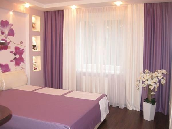 L\'intérieur des chambres en violet violet. Faire une chambre ...