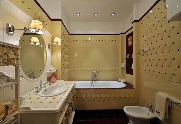 klasik tarzda banyo, fotoğraf 1