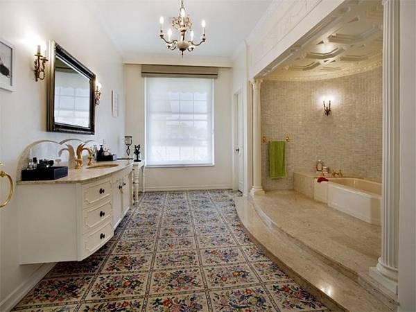 klasik tarzda banyo mobilyaları, fotoğraf 14