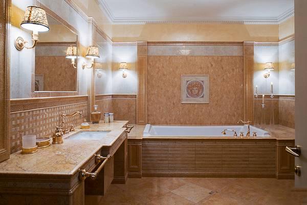 klasik tarzda banyo aplikleri, fotoğraf 21