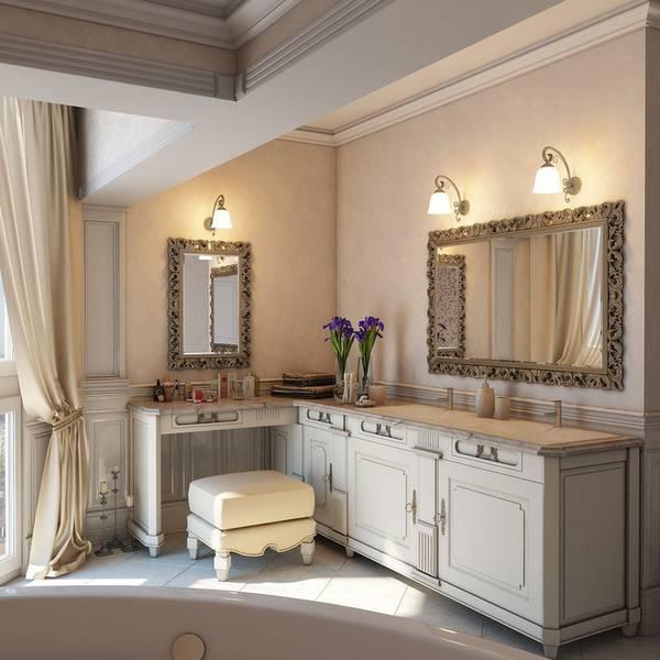 klasik tarzda banyo apliği, fotoğraf 22