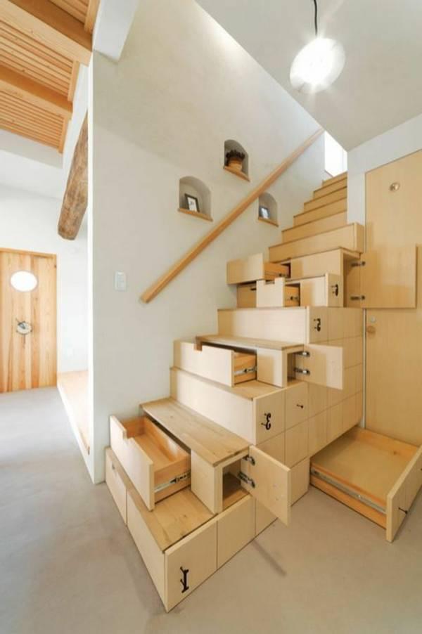 merdivenlerin altında çekmece gardırop, fotoğraf 21