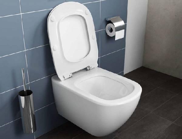 Duvara monte çerçevesiz tuvalet, fotoğraf 14