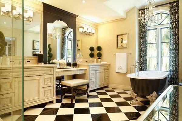klasik tarzda banyo içi, fotoğraf 5