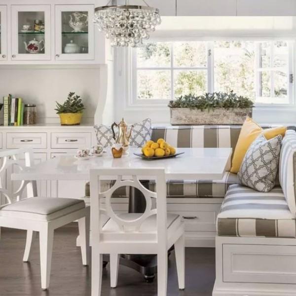 Mutfak mobilyası uyuma yeri olan mutfak köşesi