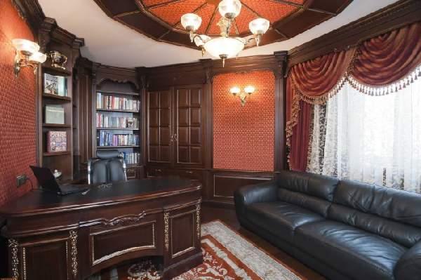 evdeki ofisin iç tasarımı, fotoğraf 21