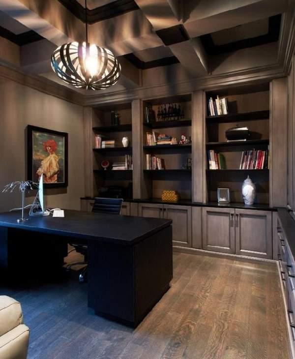 evdeki ofisin iç tasarımı, fotoğraf 26