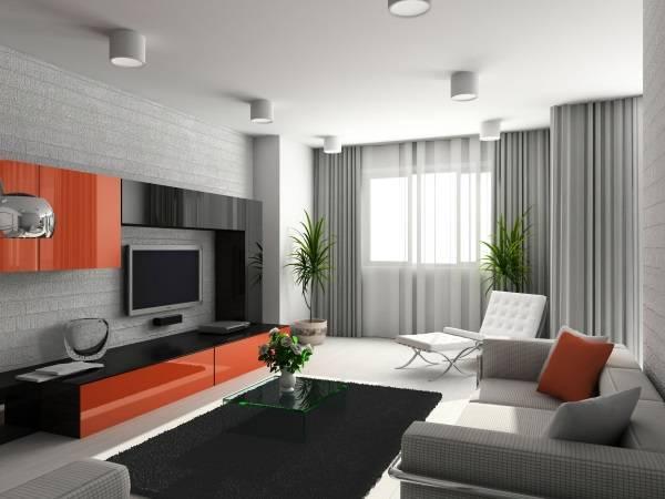 oturma odasında modern duvar dolapları, fotoğraf 41