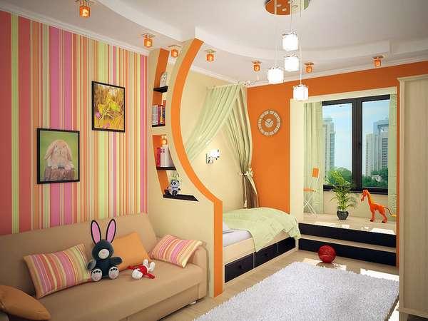 Erkekler için bir çocuk odasının içi, fotoğraf 1