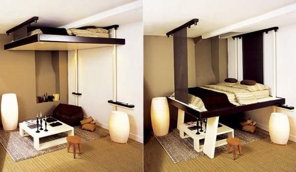 küçük stüdyo daire iç tasarım, fotoğraf 7