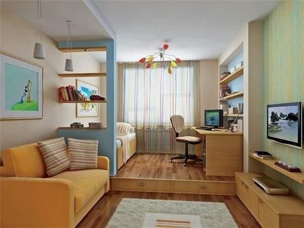 tek odalı küçük bir dairenin tasarımı, fotoğraf 8