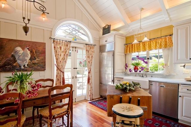 provence tarzı fotoğraf 01 küçük mutfak