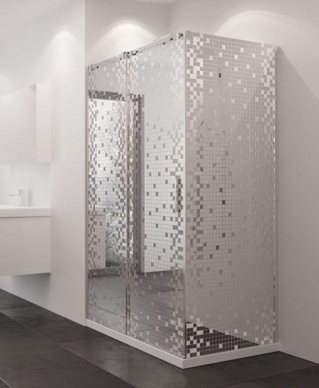 duş kabini şeffaf