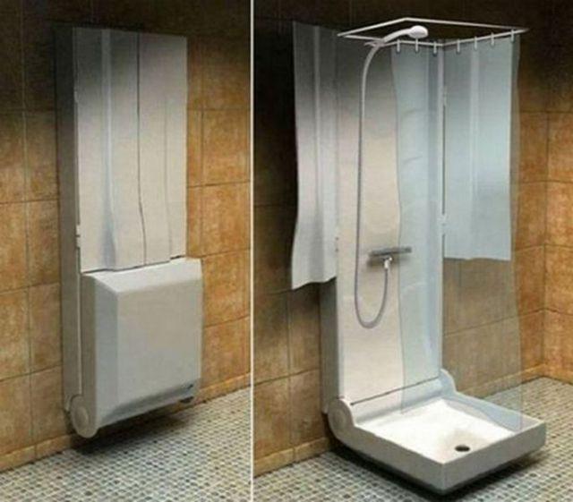 sıradışı duş fotoğrafı