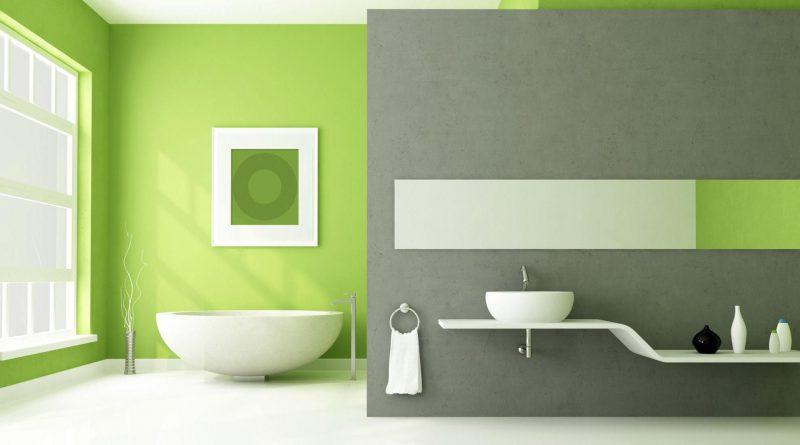 красим стены в квартире в два цвета дизайн фото 6