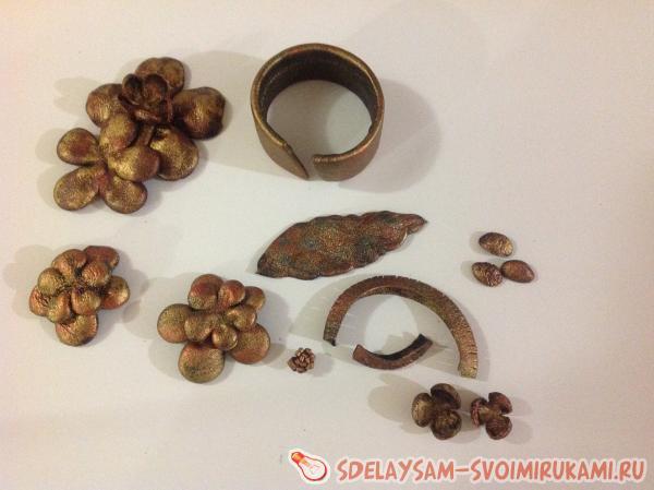 جواهرات از پوست با دستان خود را برای مبتدیان: کلاس استاد با عکس