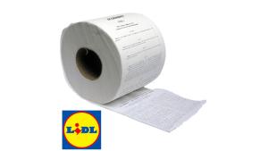 Lidl brengt grondwet bedrukt op wc-papier uit