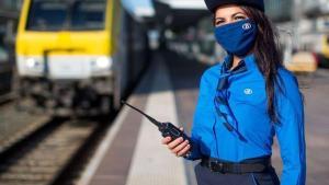 Nieuwe uniformen NMBS officieel ingehuldigd met landelijke staking
