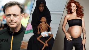 Weekoverzicht: Bart de Wever liep de 10 miles, in Jemen sterven kinderen de hongerdood en Natalia is 31 weken zwanger