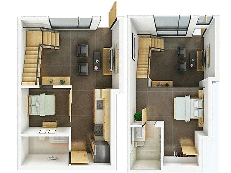 Beautiful 71 Gambar Denah Rumah Minimalis Sederhana 3d Terbaru