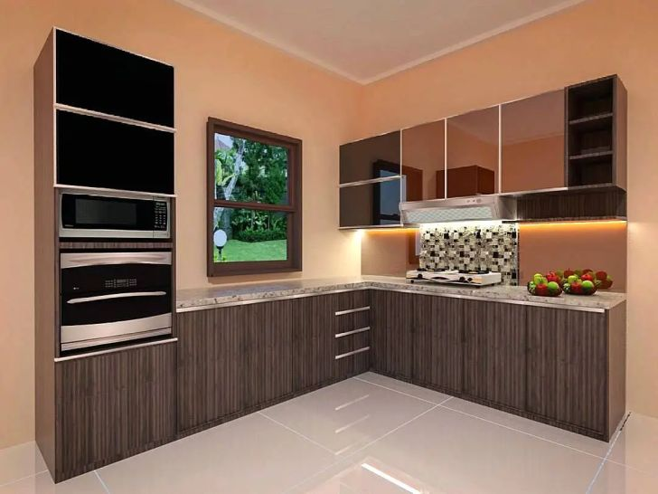 Kitchen Cabinets: Gambar Desain Kitchen Set. Kitchen Set Minimalis Sederhana Modern Terbaru Dekor Rumah Widescreen Gambar Desain Set For Mobile Full Hd Pics