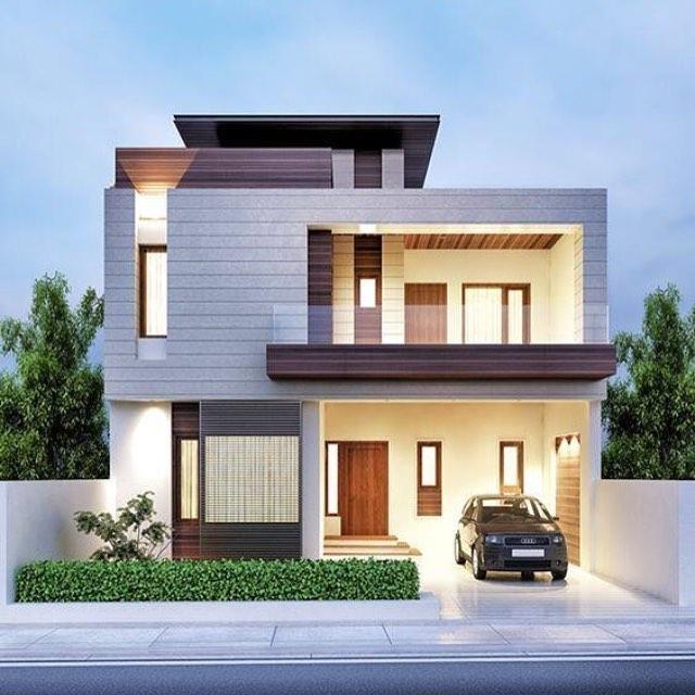 18 Desain Rumah Mewah Modern Bergaya Minimalis Terbaru 2019  Dekor Rumah