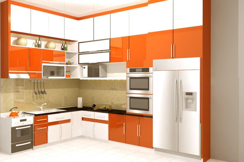 Desain Lemari Dapur Yang Unik