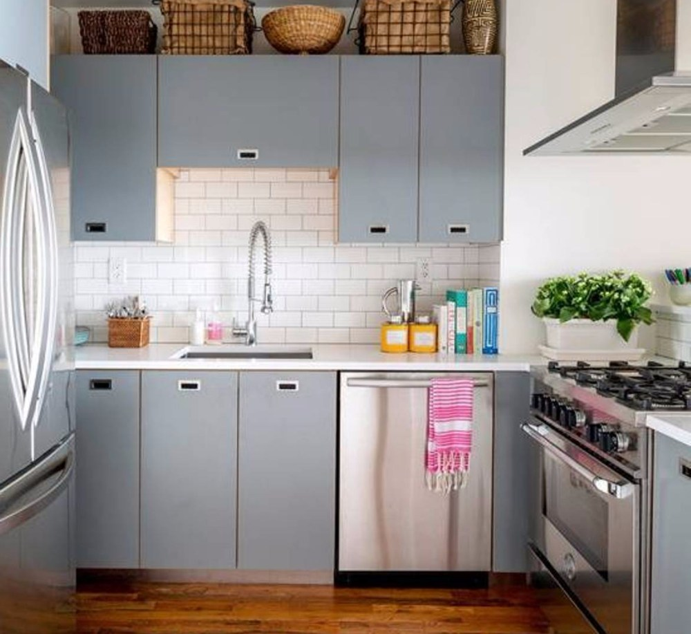 Layout kitchen set dapur minimalis