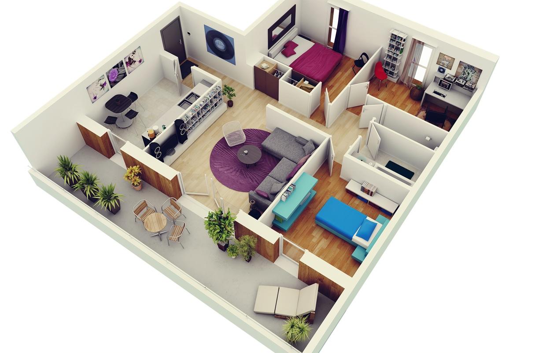 6500 Koleksi Gambar Desain Interior Rumah 2 Lantai Minimalis Gratis Terbaru