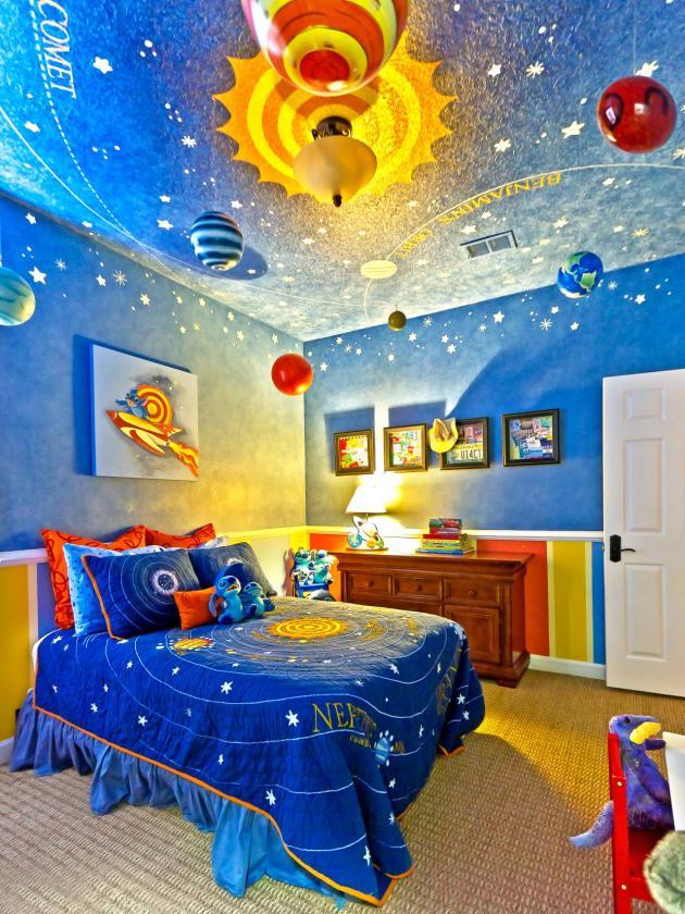 Kamar Tidur Anak Laki-Laki