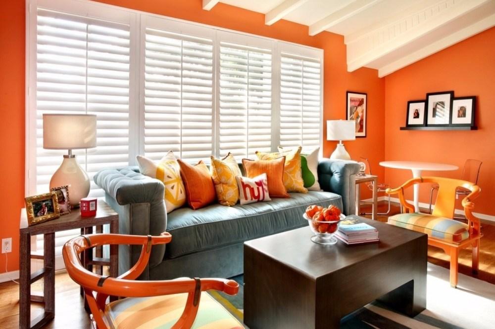 Warna Cat Rumah Orange
