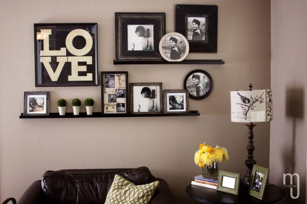 Bingkai Foto Untuk Dekorasi Ruang Tamu
