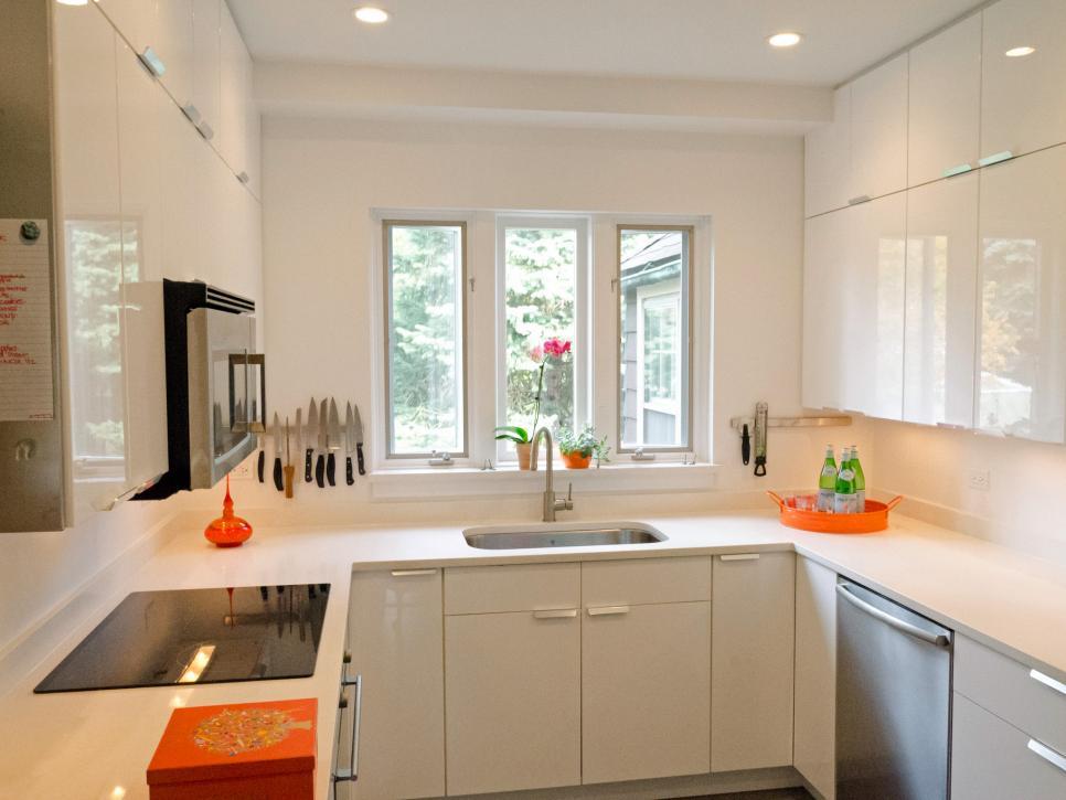 Penempatan Cahaya Desain Dapur Kecil