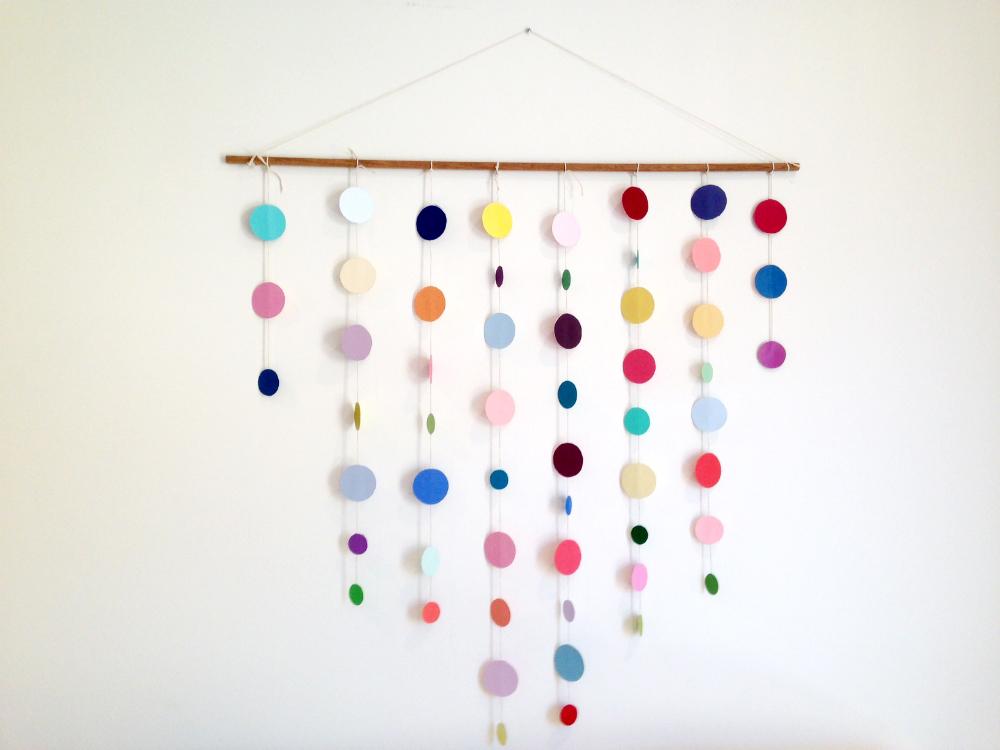 Mengubah Dinding Lusuh Jadi Wow Dengan Kertas Kado