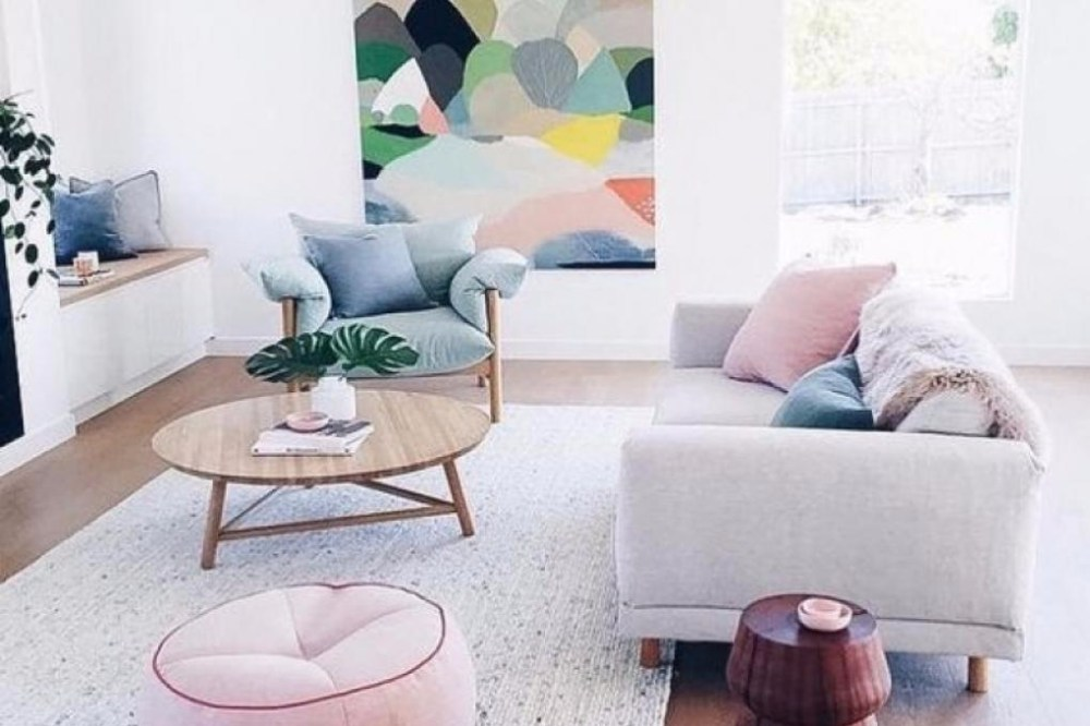 rumah minimalis sederhana nuansa pastel