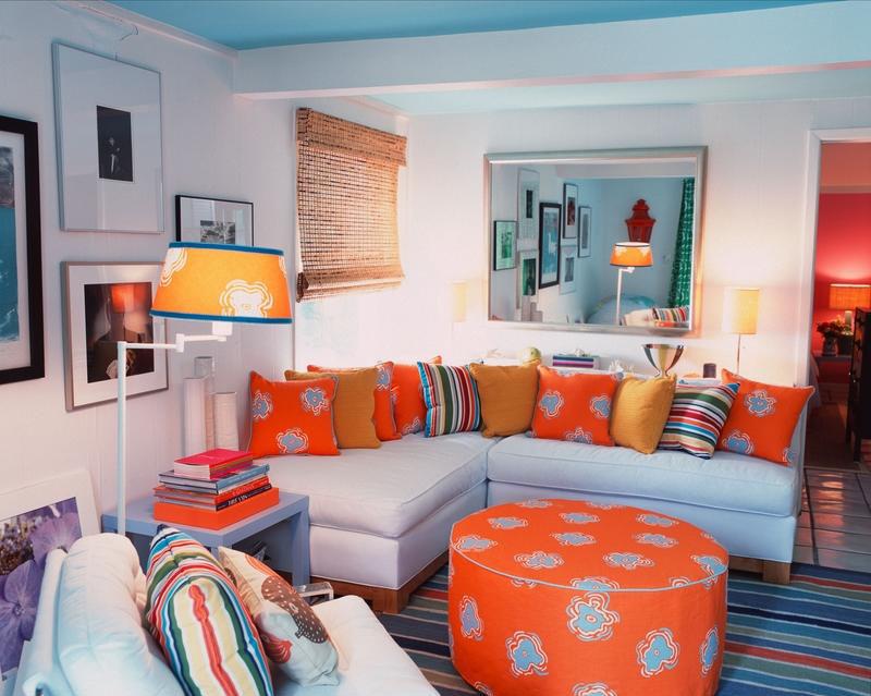 Ruang Keluarga Colorful