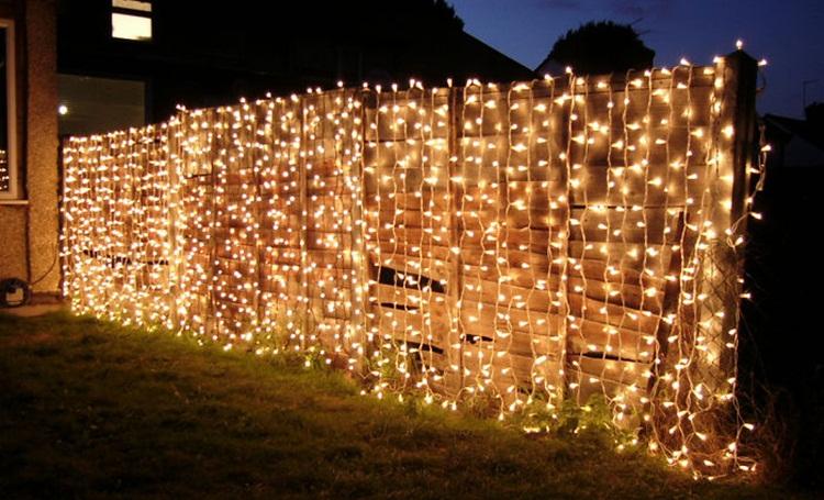 Pagar Rumah Unik Lampu Dekorasi